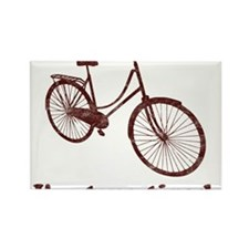 Im Two Tired Too Tired Sleepy Bicycle Magnets