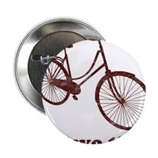 "Im Two Tired Too Tired Sleepy Bicycle 2.25"" Button"