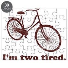 Im Two Tired Too Tired Sleepy Bicycle Puzzle