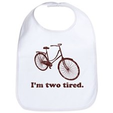 Im Two Tired Too Tired Sleepy Bicycle Bib