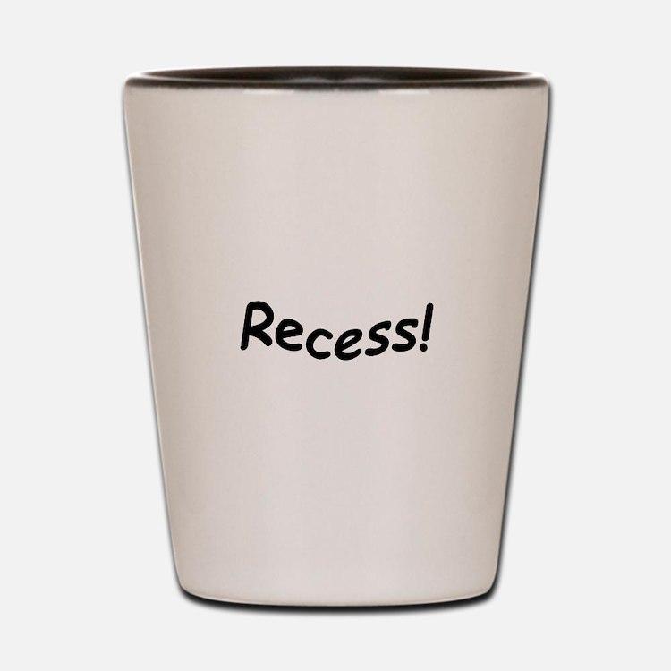 crazy recess Shot Glass