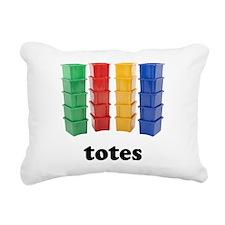 Totally Totes Rectangular Canvas Pillow