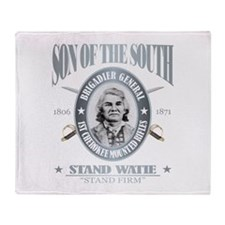 Stand Watie Throw Blanket