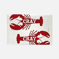 That Cray Cray Crayfish Crustacean Magnets