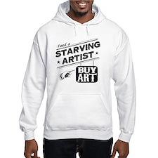 starving artist Hoodie