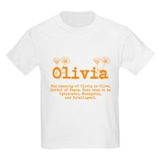 The meaning of Olivia T-Shirt