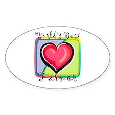 WB Grandma [Swedish] Oval Stickers