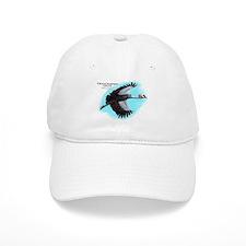 Gray-Crowned Crane Baseball Cap