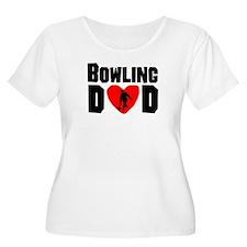 Bowling Dad Plus Size T-Shirt