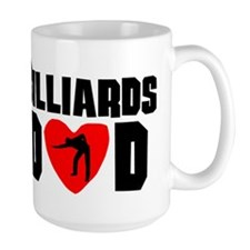Billiards Dad Mugs
