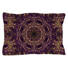 Purple Mandala Hippie Pattern Pillow Case