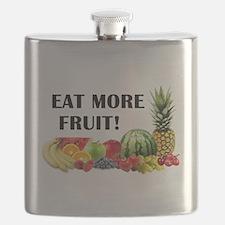 Eat More Fruit Flask