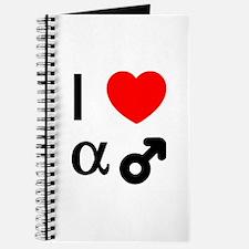 I Heart Alpha Men Journal
