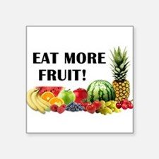Eat More Fruit Sticker
