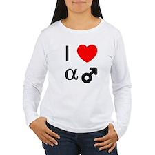 I Heart Alpha Men T-Shirt