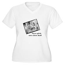 Yarn Girls are Close Knit T-Shirt