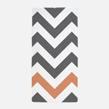 Chevron Pattern Beach Towel