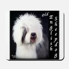 Old English Sheepdog OES Mousepad