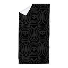 Skulls Pattern Beach Towel