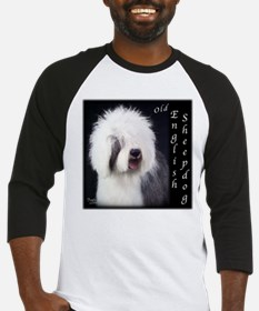 Old English Sheepdog OES Baseball Jersey