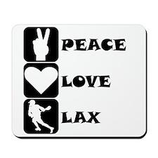 Peace Love Lax Mousepad