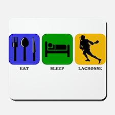 Eat Sleep Lacrosse Mousepad