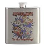 Supervillains Flask