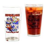 Supervillains Drinking Glass