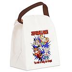Supervillains Canvas Lunch Bag