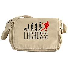 Lacrosse Evolution (Red) Messenger Bag