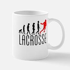 Lacrosse Evolution (Red) Mugs