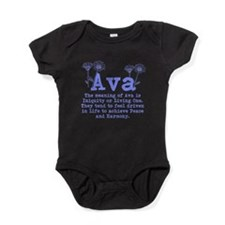 The Meaning of Ava Baby Bodysuit