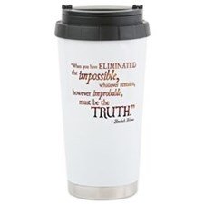 Cute Sherlock quotes Travel Mug