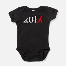 Cricket Evolution (Red) Baby Bodysuit