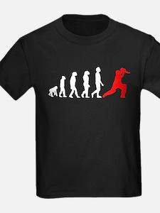 Cricket Evolution (Red) T-Shirt