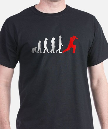 Cricket Evolution (Red) T-Shirt