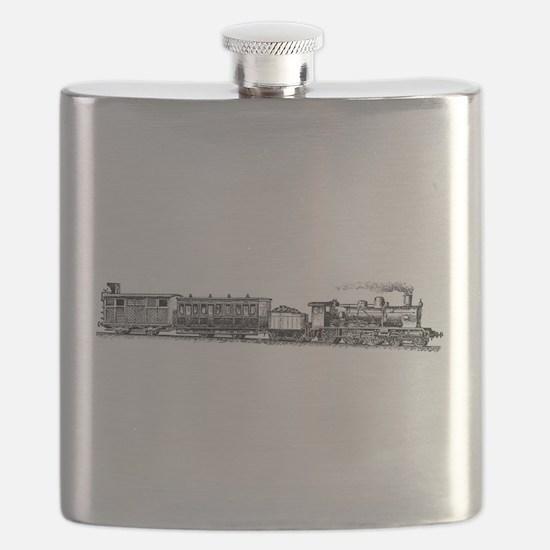 Steam Engine Flask
