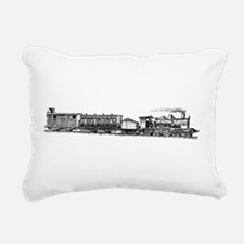 Steam Engine Rectangular Canvas Pillow