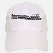 Steam Engine Baseball Baseball Baseball Cap