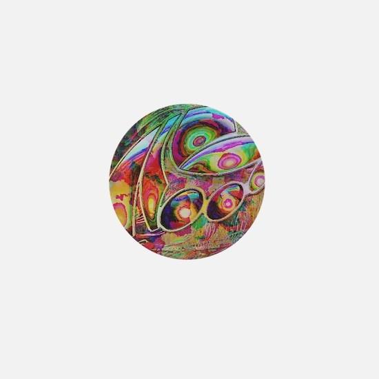abstract fantasy Mini Button