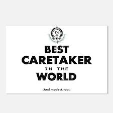 Best in the World Best Caretaker Postcards (Packag