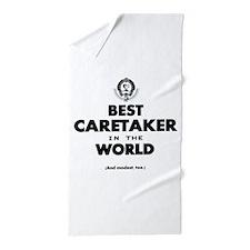 Best in the World Best Caretaker Beach Towel