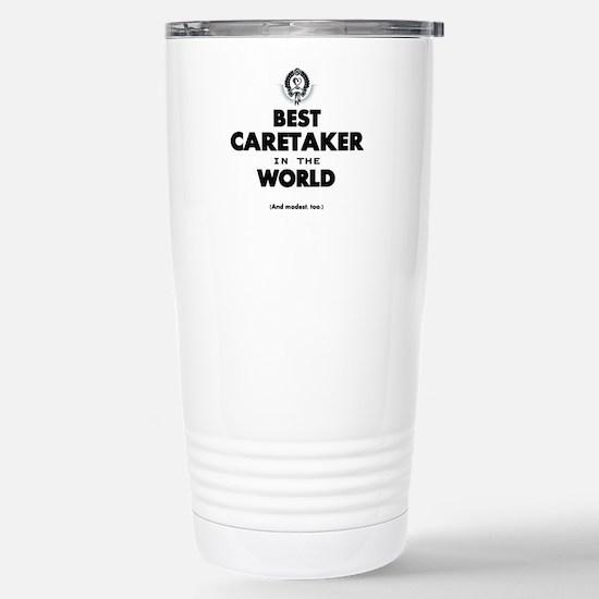 Best in the World Best Caretaker Travel Mug
