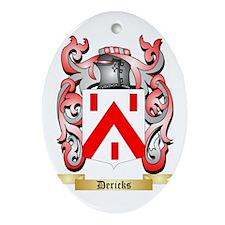 Dericks Ornament (Oval)