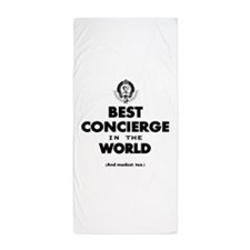 Best in the World Best Concierge Beach Towel