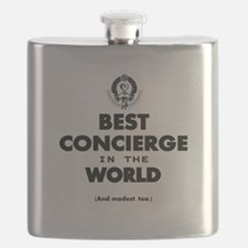 Best in the World Best Concierge Flask