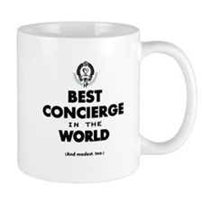 Best in the World Best Concierge Mugs