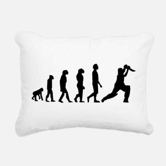 Cricket Evolution Rectangular Canvas Pillow