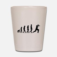Cricket Evolution Shot Glass