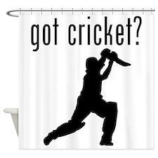 got cricket? Shower Curtain